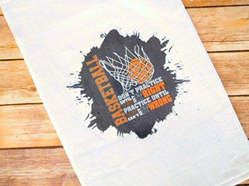 Team Colors Sweat - Basketball Towel - Sweat Towel for Basketball Player - Team Towel