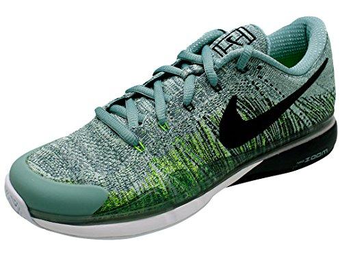885725-001 Chaussures De Tennis Nike Multicolores (canon / Noir - Vert Électrique - Vert Émail)