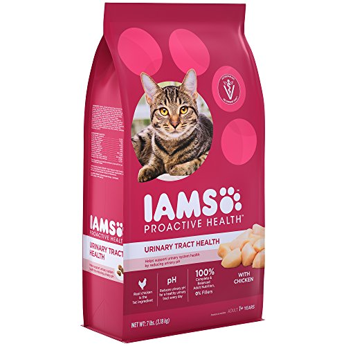 Iams Proactive Health Adult Urinary Tract Health Dry Cat Food With Chicken, 7 Lb. Bag