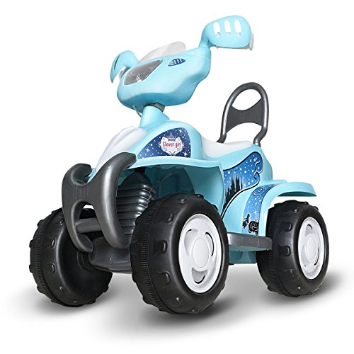 Costzon Ride On Quad, 6V Battery Powered Ride On Four Wheeler, Electric Toys for Boys and Girls 3 - 8 Year Olds (Blue)
