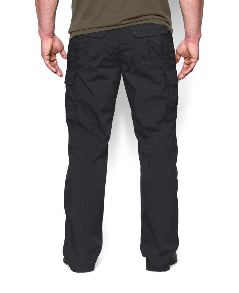 Under Armour Men's Tac Patrol II Pants, Black, Size