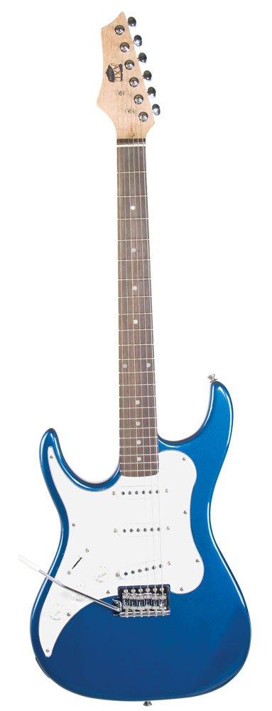 Axl Headliner Series Guitarra eléctrica, acústica, 3/Color azul ...