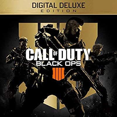 d193cc20d86 Amazon.com  Call of Duty  Black Ops 4 - Digital Deluxe Enhanced Edition (Pre -Order) - PS4  Digital Code   Video Games