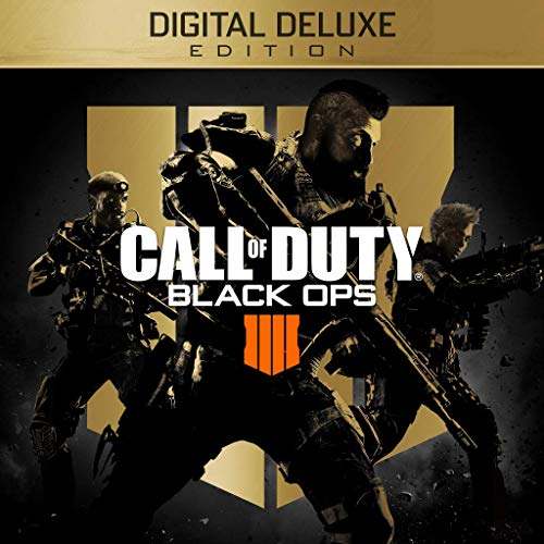Call of Duty: Black Ops 4 - Digital Deluxe Enhanced Edition (Pre-Order) - PS4 [Digital - Black Amazon Ops