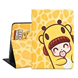 Cute iPad 9.7 Case, 2018/2017, iPad Air 2, iPad Air Case, [Corner Protection] Durable Magnetic Leather, Soft Silicone Cover with More Angles Viewing and Auto Sleep/Wake (Lollypop)