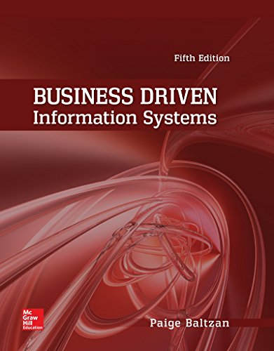 Business Driven Information Systems cover