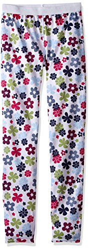 Hot Chillys Youth Pepper Skins Print Bottom, Flower Power, Large