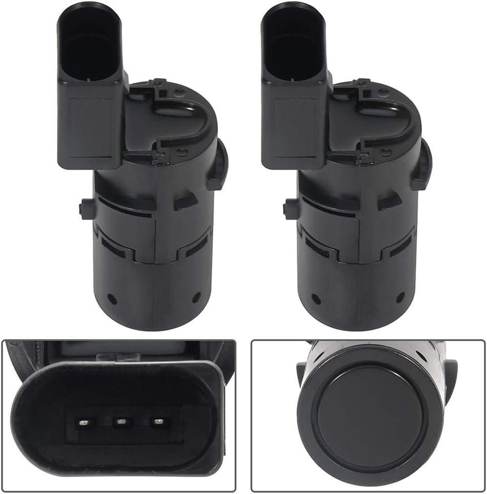 Rear ZENITHIKE 2PCS PDC Parking Sensor Radar Detector Compatible with 2007-2011 S6,2006-2011 A6,2005-2011 A6 Quattro