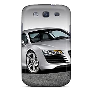 MansourMurray Samsung Galaxy S3 Best Hard Phone Cases Custom Realistic Audi R8 Pictures [doz12480BfYE]