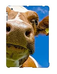 Graceyou Series Skin Case Cover Ikey Case For Ipad 2/3/4(Animal Cow)