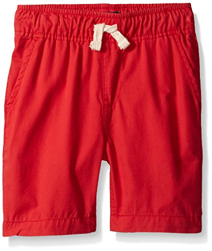 [The Children's Place Big Boys' Pull on Jogger Short, Sail Red, 8] (Red Boys Shorts)