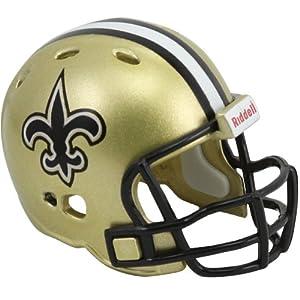 Riddell New Orleans Saints POCKET PRO Mini Football Helmet