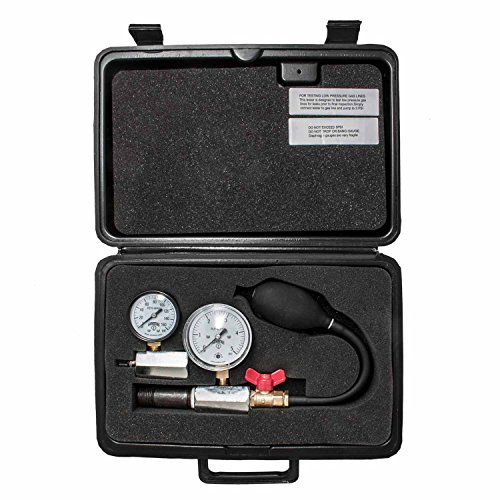 Winters PGWT0100 Low Pressure Gas and Water Test Kit, 0-5 PSI for Water/Test Gauge, 0-160 PSI Input Range for Gas Test Gauge