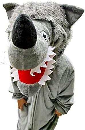 Ikumaal F49 L-XL Lobo traje de lobo lobos de disfraces Disfraces ...