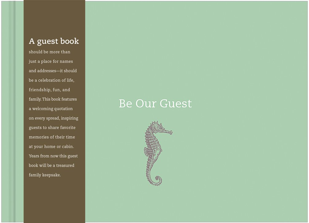 Be Our Guest Coastal Book