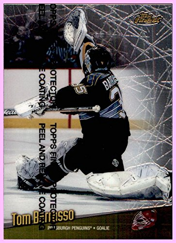 1998-99 Topps Finest #142 Tom Barrasso PITTSBURGH PENGUINS