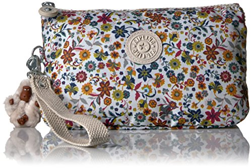 Kipling Creativity Xl Printed Pouch, Chatty Daisies by Kipling