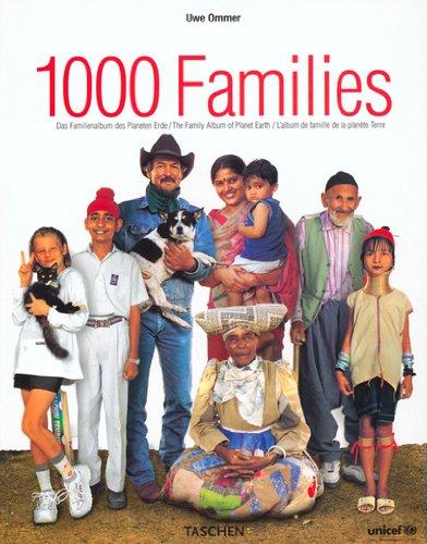1000 Families : L'Album de famille de la planète Terre, édition trilingue français-anglais-allemand
