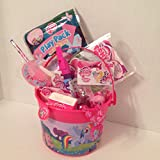 "My Little Pony 16 Piece Small 5"" Bucket of Fun Gift Set"
