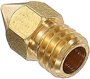 ILS - 5 Piezas 1.75mm 0.4mm Cobre Zortrax M200 Boquilla para ...