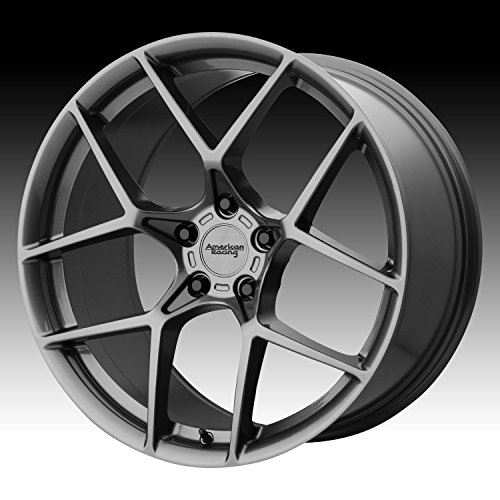 AMERICAN RACING AR924 CROSSFIRE Wheel with GRAY and Chromium (hexavalent compounds) (20 x 9. inches /5 x 72 mm, 35 mm Offset) (Racing Jeep American)