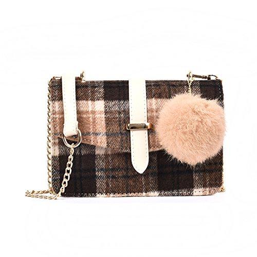 Women's Small Square Bag, Shoulder Bag Handbag Wild On Top-handle Bags Shoulder Bags For Girls-b C