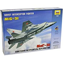 1/72 MIG-31 Fighter Soviet Interceptor Model Kit Russian military armored plane airplane craft aircraft aviation jet Russia