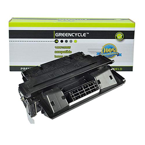 GREENCYCLE Compatible C8061A 61A Laser Toner Cartridge Replacement HP Laserjet 4100 4100MFP 4100dtn 4100n 4100tn 4101MFP Printer (Black, 1 Pack)
