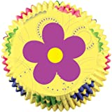 Wilton Dancing Daisy Flower Baking Cups, 50 Count