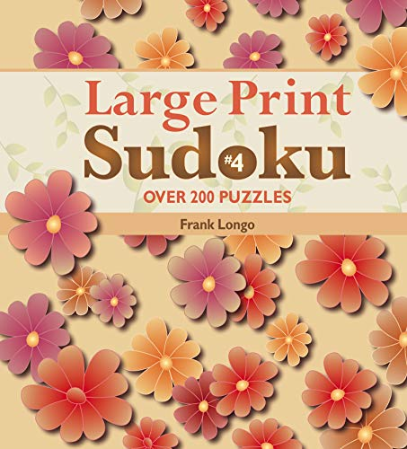 Large Print Sudoku #4: Over 200 Puzzles (Wire Frank)