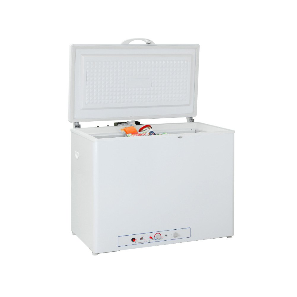 SMETA 110V LPG Propane Gas Absorption Gas Chest Freezer, 7.1 Cu Ft,White