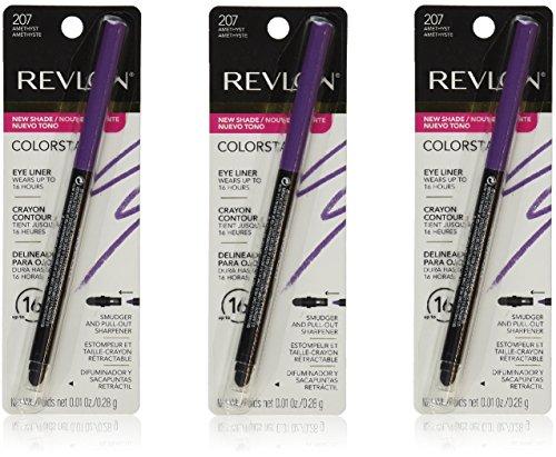 Revlon Colorstay Eye Liner - 207 Amethyst, 0.01 Ounces (Pack of (Liquid Eyeliner By Revlon)