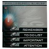 Philadelphia Eagles 4 Pack Magnetic to Do Notes
