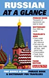 img - for Russian at a Glance: Foreign Language Phrasebook & Dictionary (At a Glance Series) by Thomas R. Beyer Jr. Ph.D. (2008-02-29) book / textbook / text book