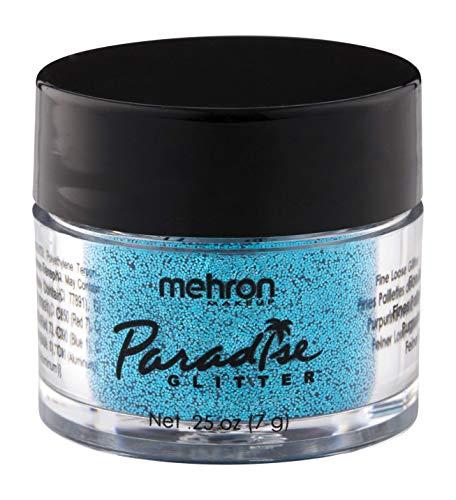 Mehron Makeup Paradise AQ Glitter (0.25 oz) (BLUE)