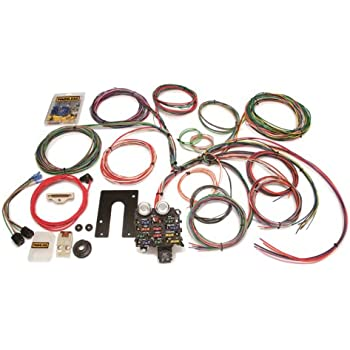 painless 10105 classic customizable jeep cj harness (1975 and earlier 22 circuits) Painless Wiring Diagram Chevy
