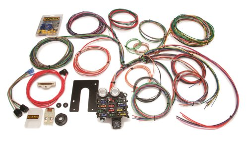 Painless Wire 10105 Wiring Harness with Firewall Grommet for Jeep CJ