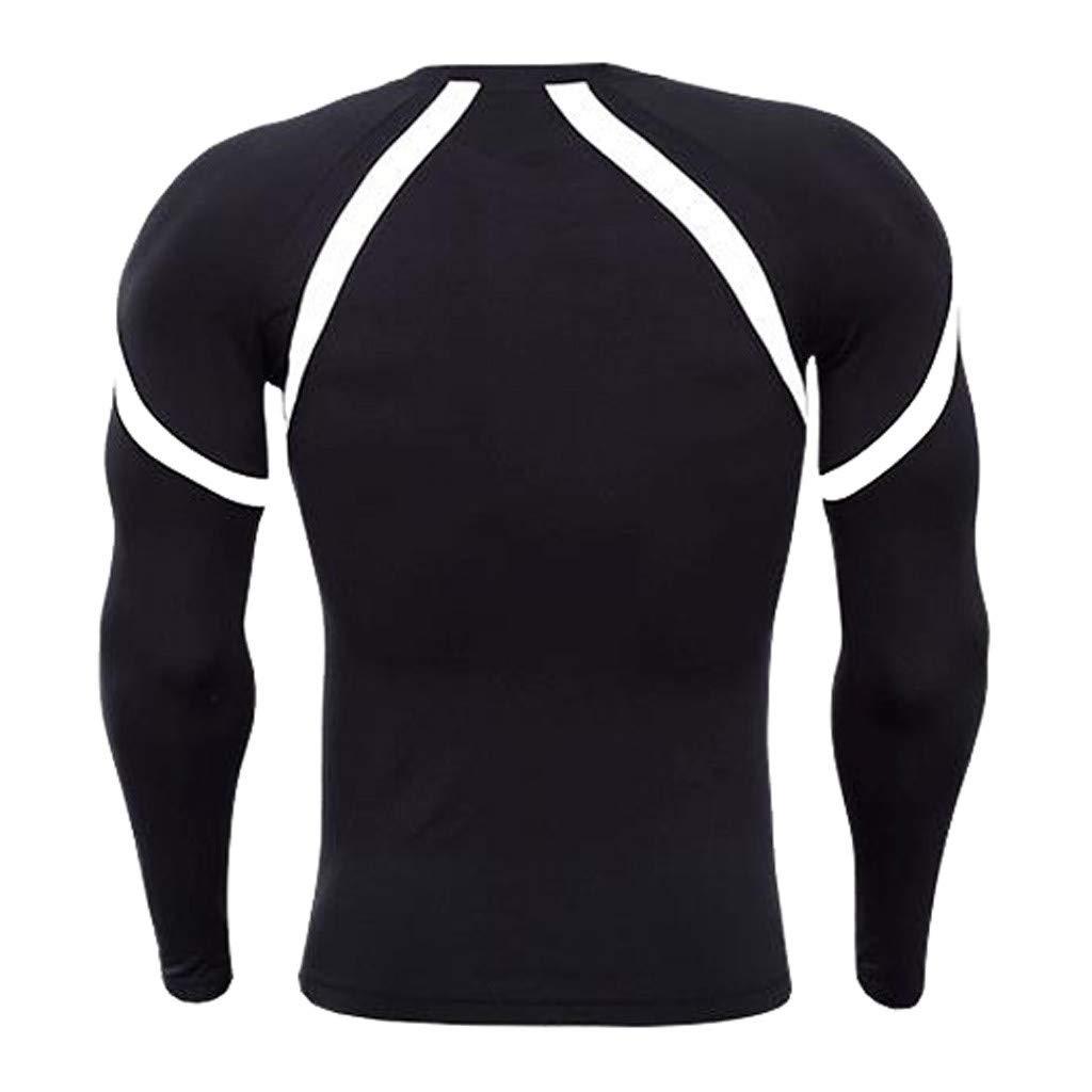 Shirt Completo da Uomo Giacche Sportive Uomo Styledresser Leggings Uomo Fitness,Uomo Allenarsi Ghette Fitness Gli Sport Palestra in Esecuzione Yoga Atletico Pants