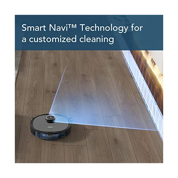 Ecovacs-DEEBOT-OZMO-920-2-in-1-Vacuuming-and-Mopping-Robot-with-Smart-Navi-30-Systematic-Cleaning-Multi-Floor-Mapping-Works-with-Alexa-Large-Black