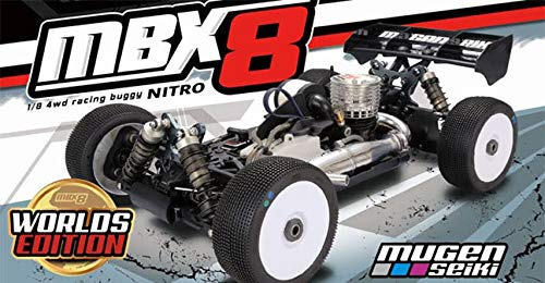 MUGEN SEIKI MBX8 World's Edition 1/8 Nitro Buggy Kit