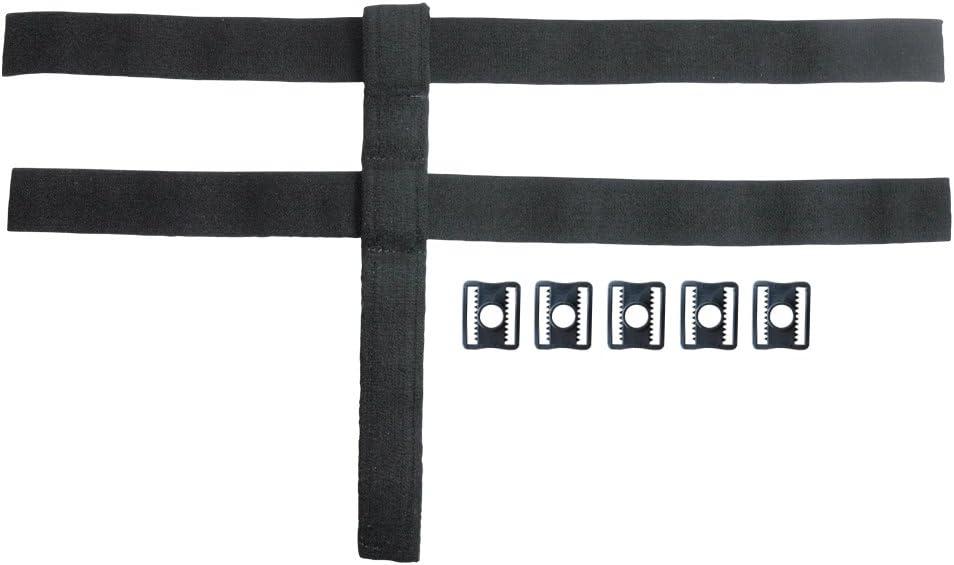 Outil de sangle de protection du cou et du poignet en cuir dispositif de fixation de cosplay r/églable