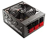 Enermax Platimax 1350W 89+ EPS 12V Modular PSU 240-Pin 1600 Power Supply, EPM1350EWT