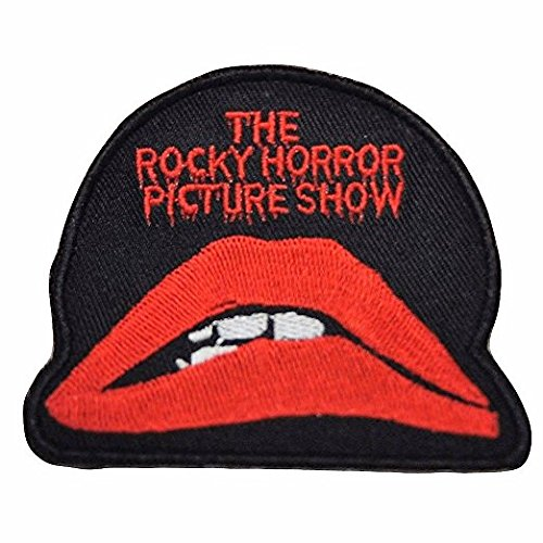 Rocky Horror Picture Show Logo Iron on Patch - Rocky Horror Picture Show Costumes For Kids
