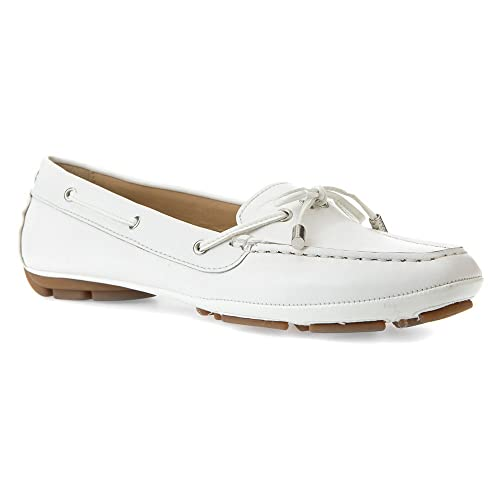 Mocassino GEOX D LEELYAN Color Bianco