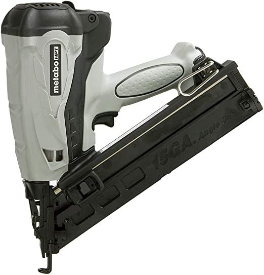 Discontinued by the Manufacturer Hitachi NT65GAP9 15 Gauge 2-1//2-Inch Gas Powered Angled Finish Nailer