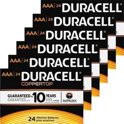 Duracell Coppertop MN2400BKD General Purpose Battery - AAA - Alkaline - 1.15Ah - 1.5V DC
