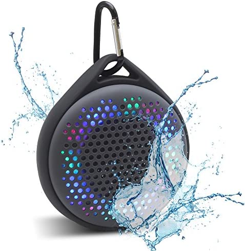 Magnavox Outdoor Shower Waterproof Speaker with Color Changing Lights and Bluetooth Wireless Technology MMA3623