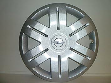 Juego de tapacubos 4 tapacubos Opel Movano (diseño antiguo y el nuevo modelo) r 16 () Logo cromado: Amazon.es: Coche y moto