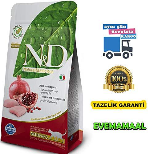 FARMINA ndgr. ainfree Neutered Pollo y melogr. Ano 5 kg. - Gato: Amazon.es: Productos para mascotas