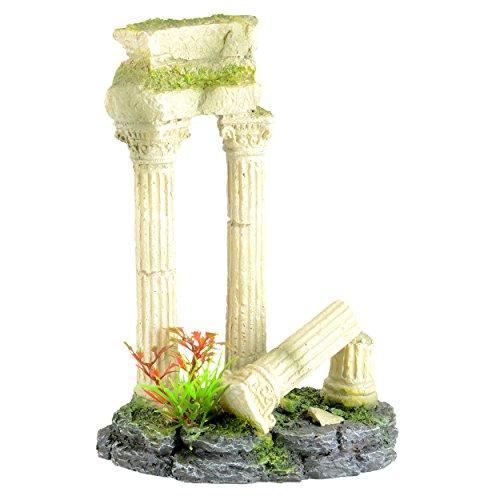 Underwater Treasures 65257 Roman Ruins Aquarium Ornament